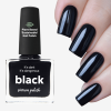 Black Nail Polish By Picture Polish