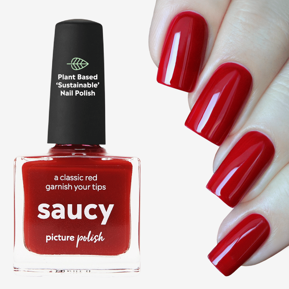 Saucy Red Nail Polish