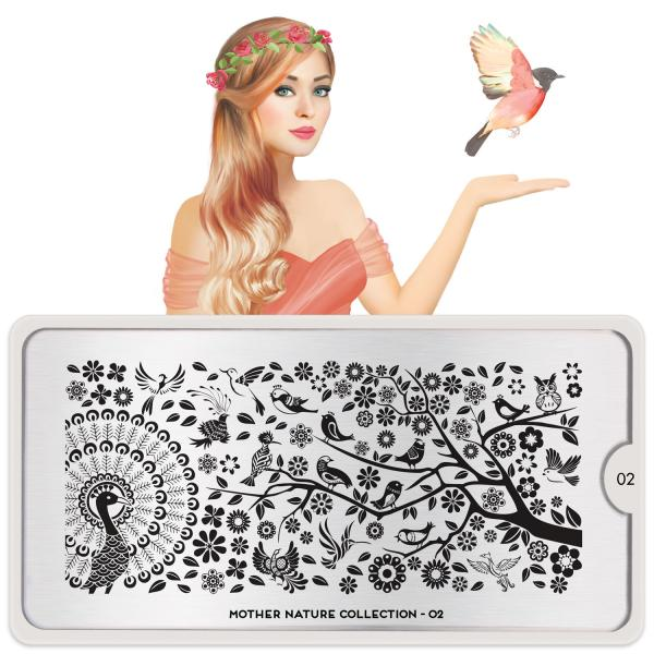 MoYou London Stamping Plate Mother Nature 02