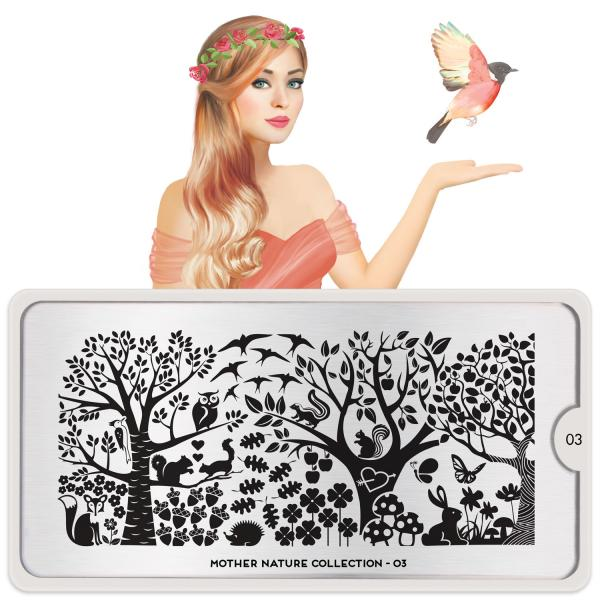MoYou London Stamping Plate Mother Nature 03