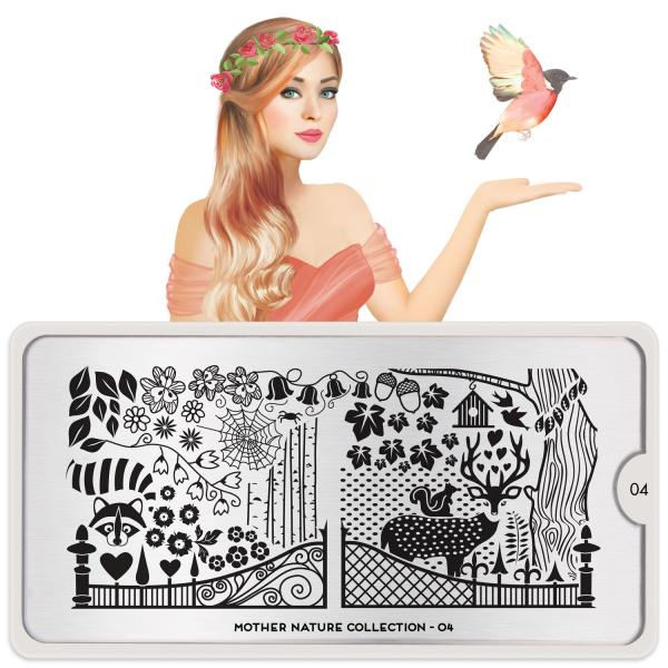 MoYou London Stamping Plate Mother Nature 04