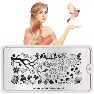 MoYou London Stamping Plate Mother Nature 07