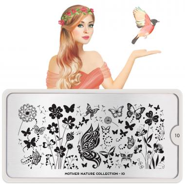 MoYou London Stamping Plate Mother Nature 10