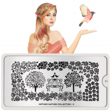 MoYou London Stamping Plate Mother Nature 11