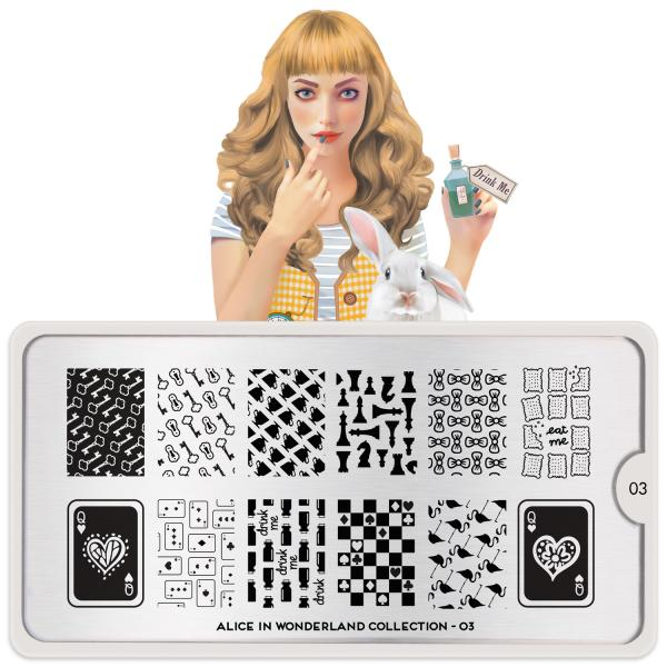 MoYou London Stamping Plate Alice 03