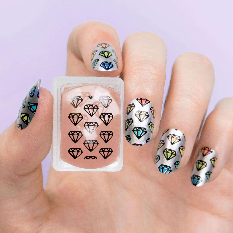 Nail Art | MoYou SUPER Clear Rectangular Stamper | piCture pOlish