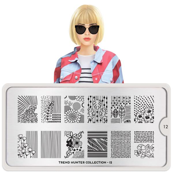 MoYou London Stamping Plate Trend Hunter 12