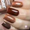 Nail Polish Amber Comparison