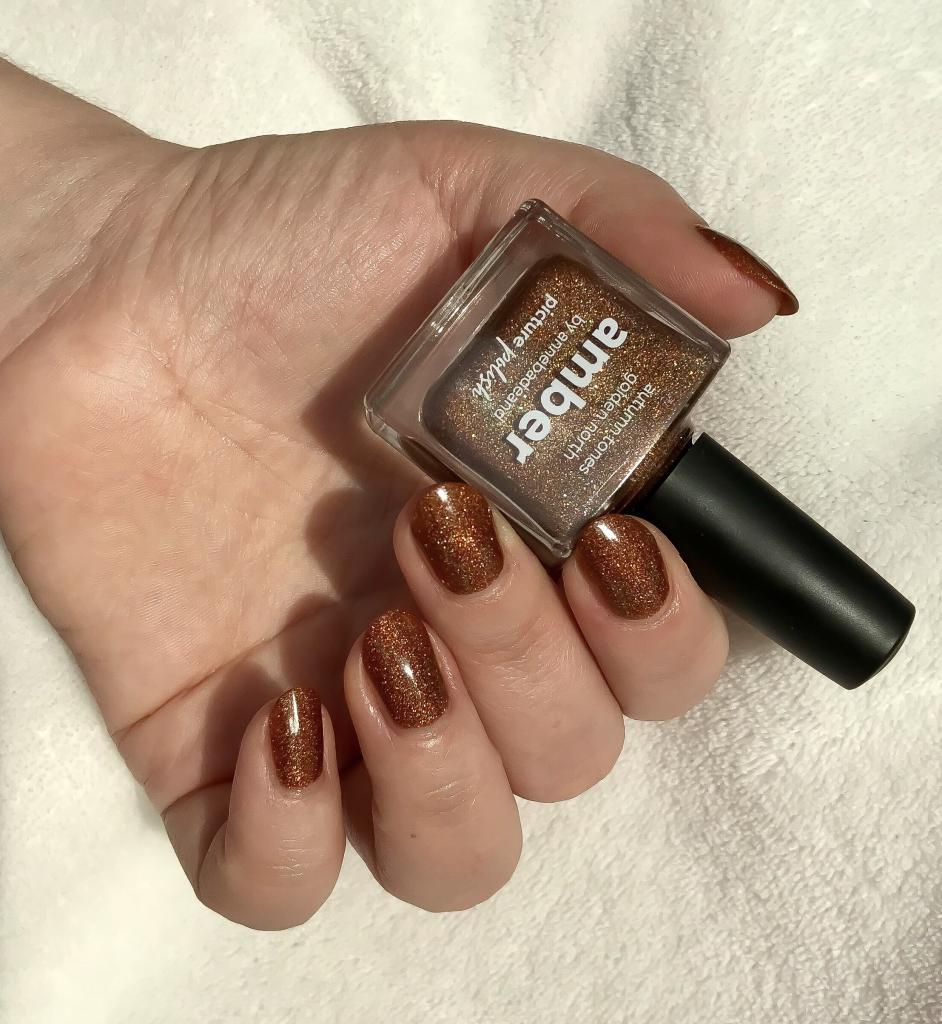 Amber Nail Polish Review