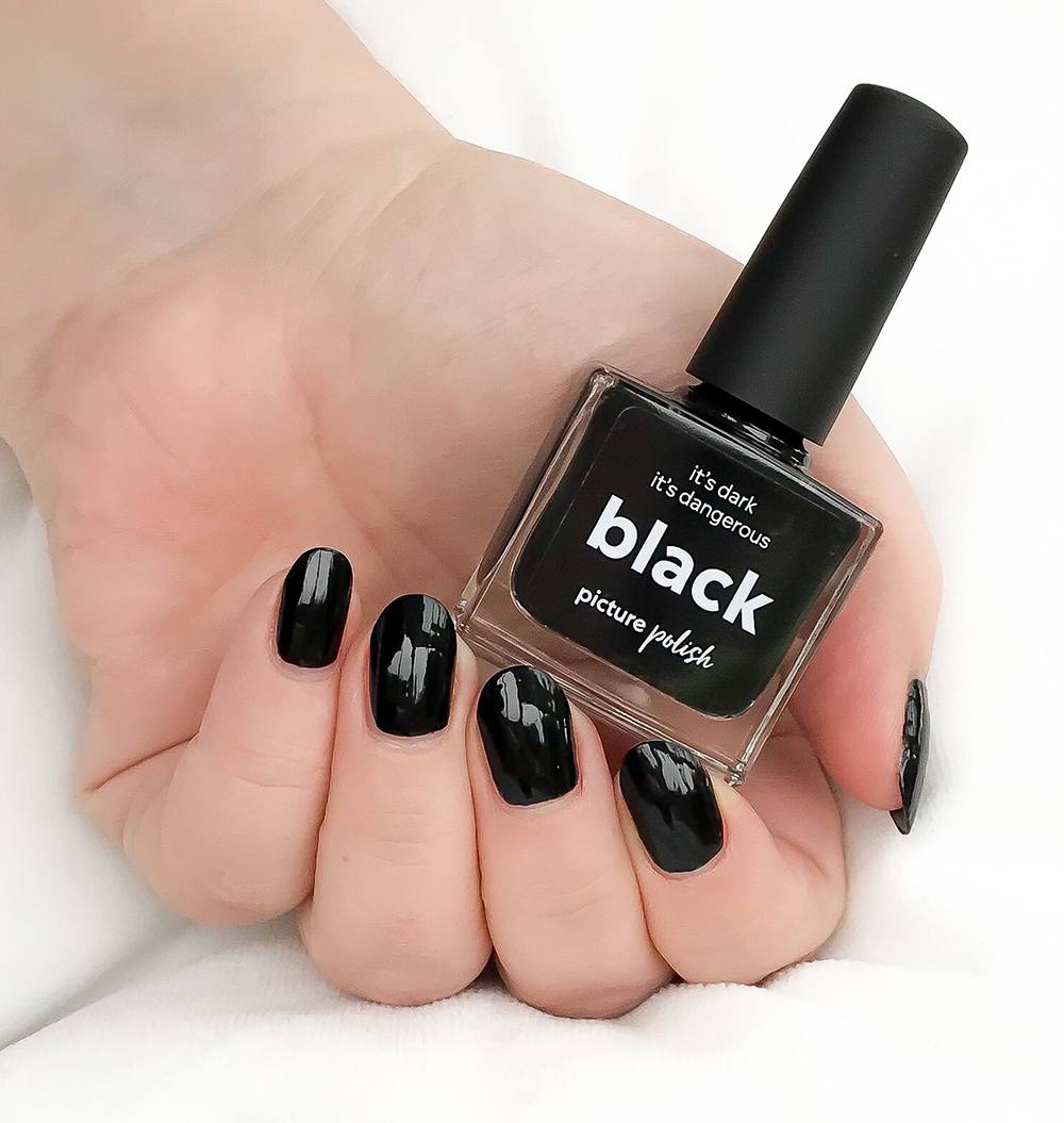 Black Nail Polish Review