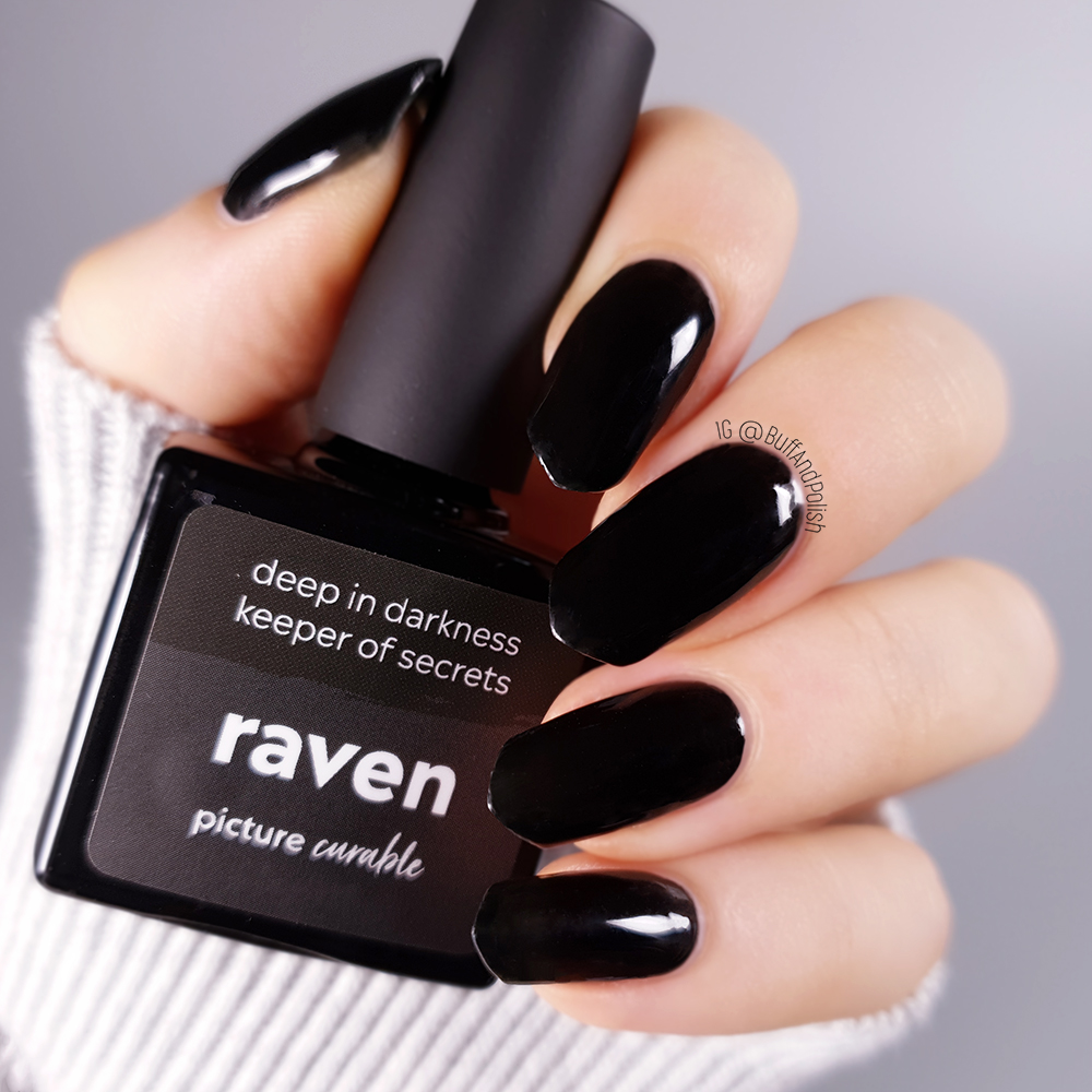 Picture Curable Raven Bottle Buff And Polish