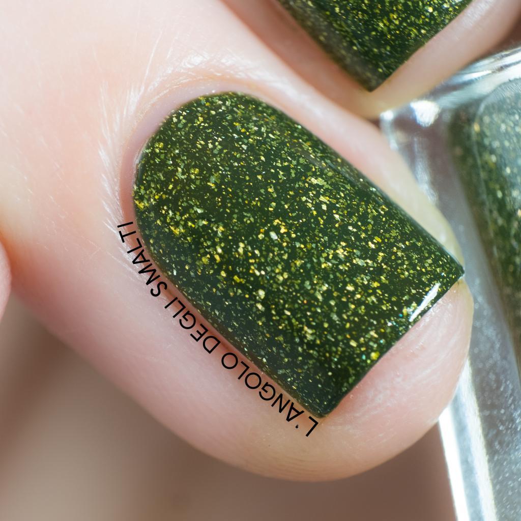 Mossy Nail Polish
