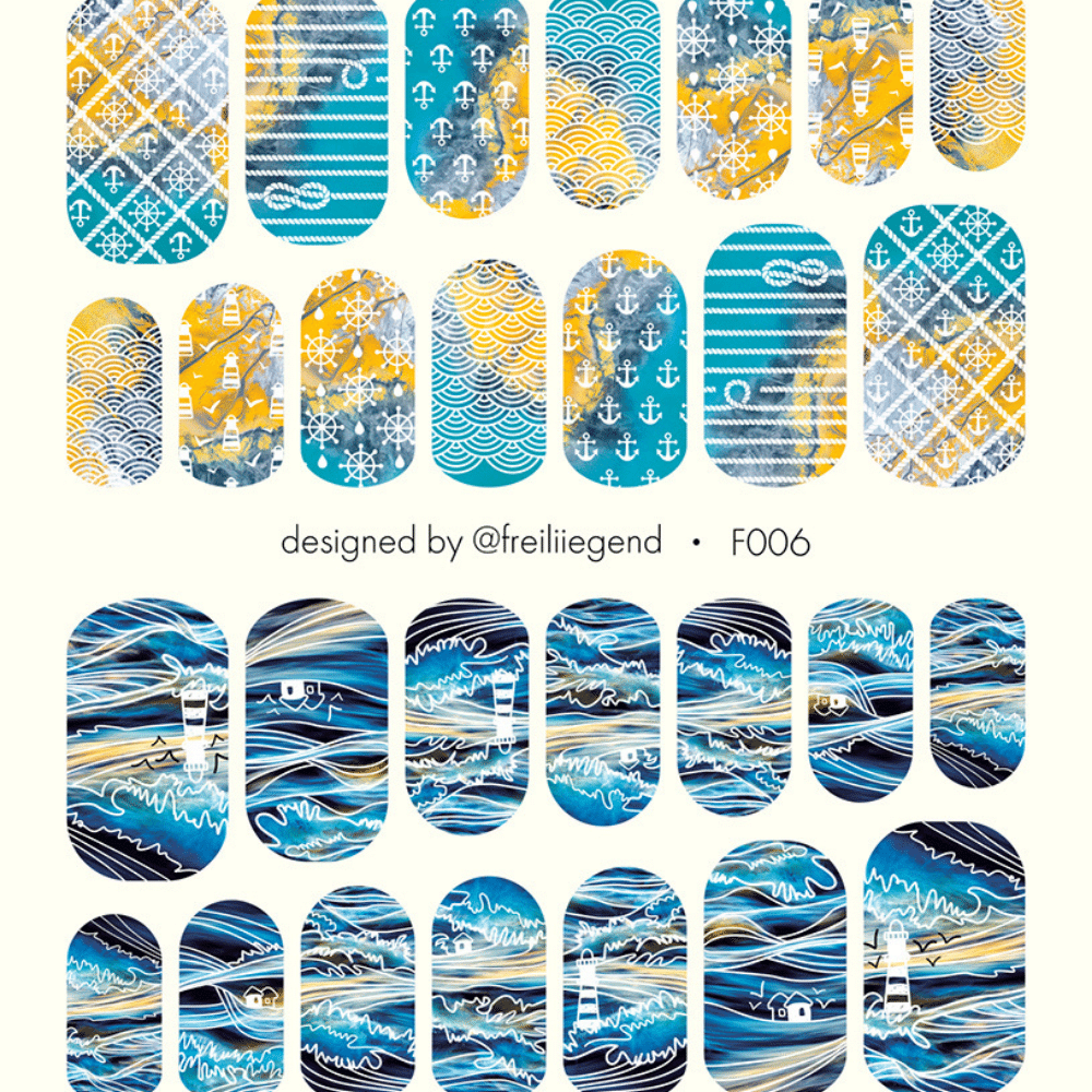 Water Decals F006