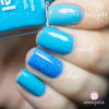 Nail Polish Ariel Comparison