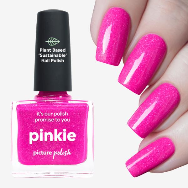 Pinkie Nail Polish