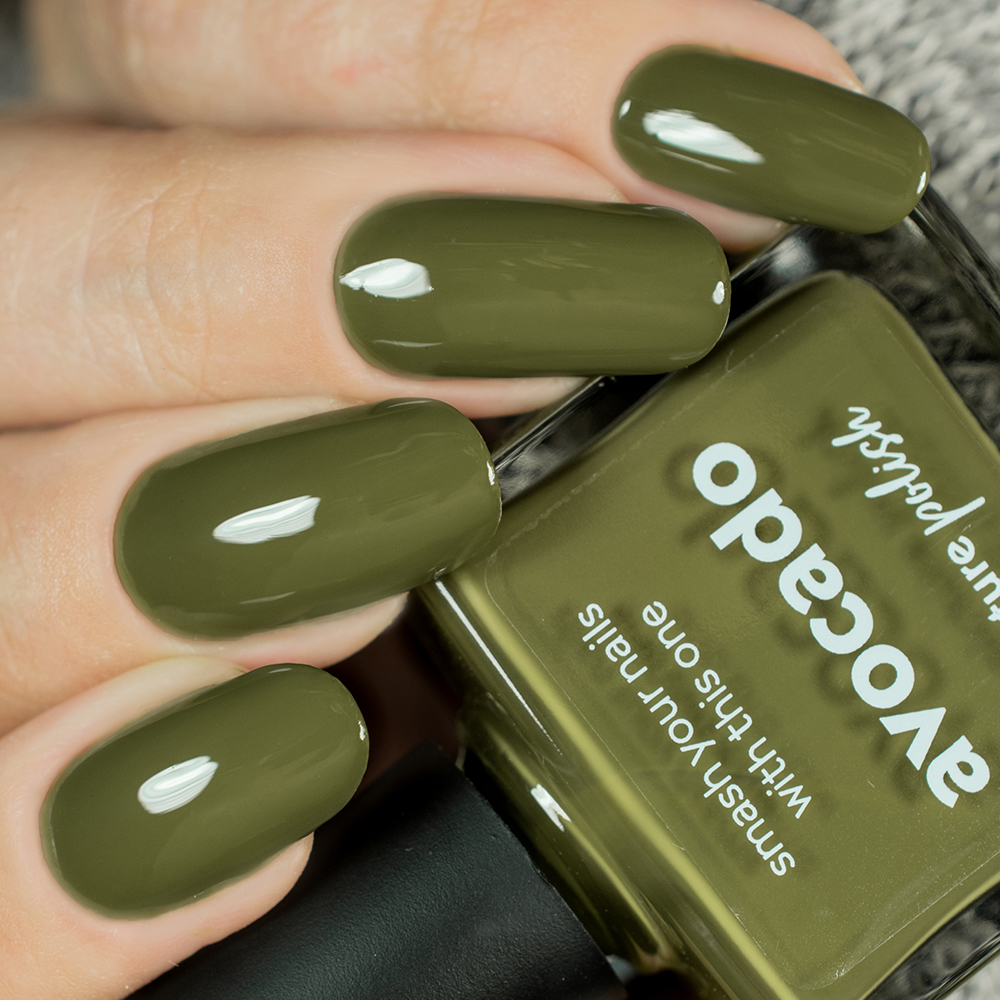 Avocado Nail Polish Review Swatch