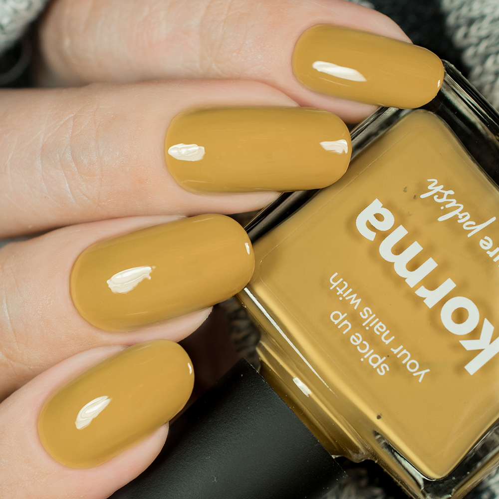 Korma Nail Polish Review Swatch