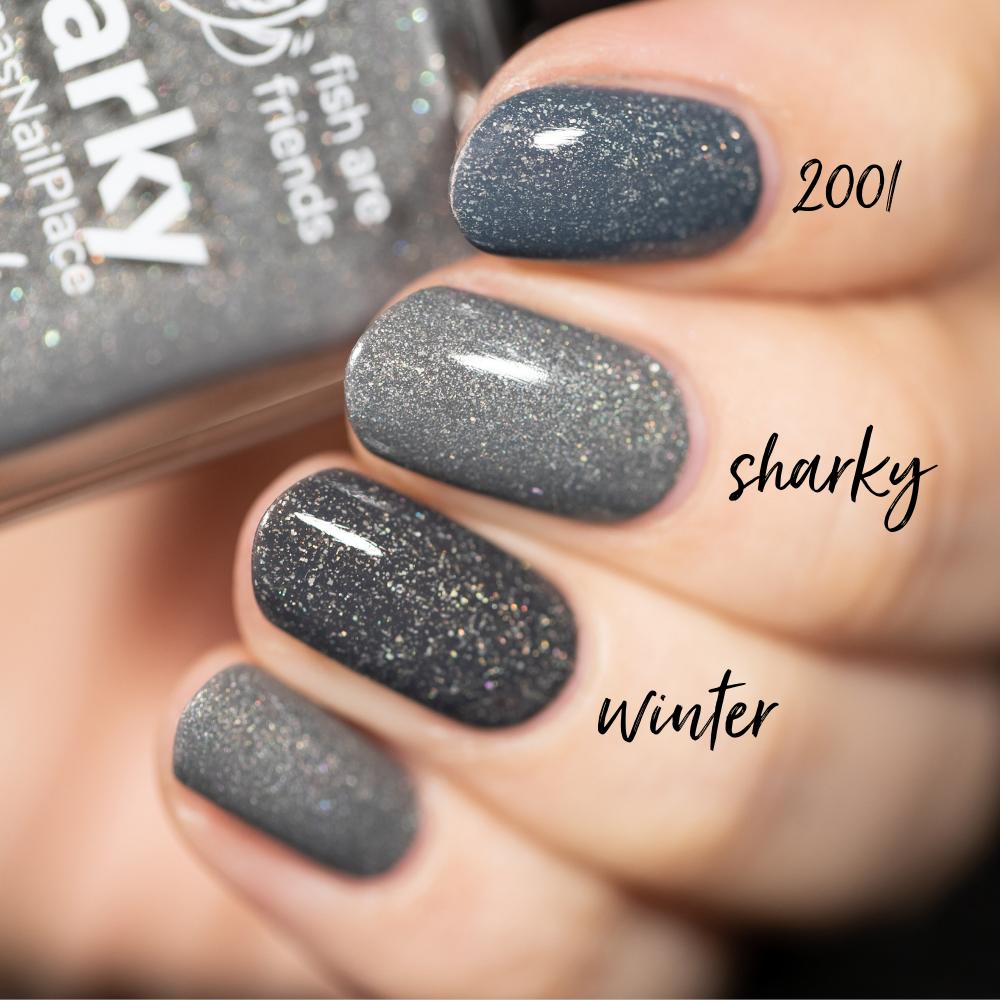 Sharky Nail Polish Comparison
