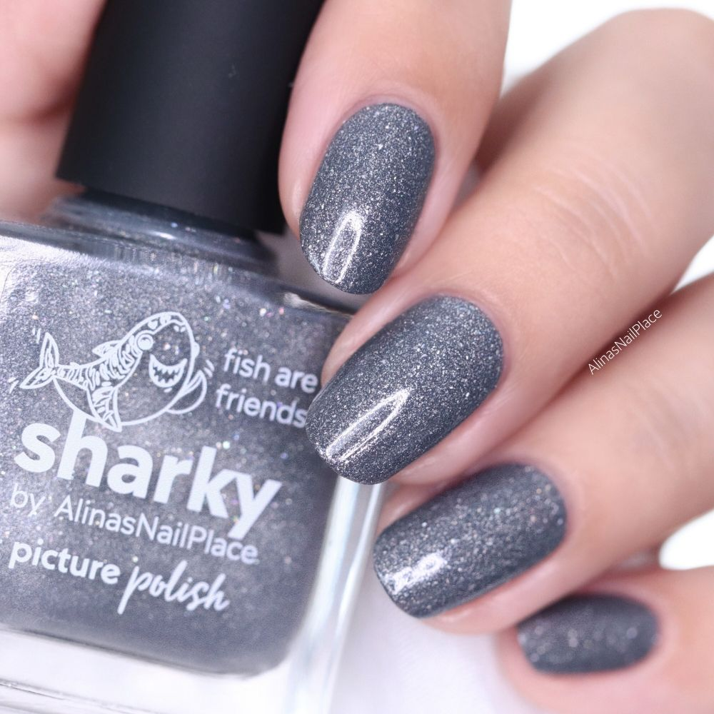 Sharky Nail Polish Alinasnailplace Swatch