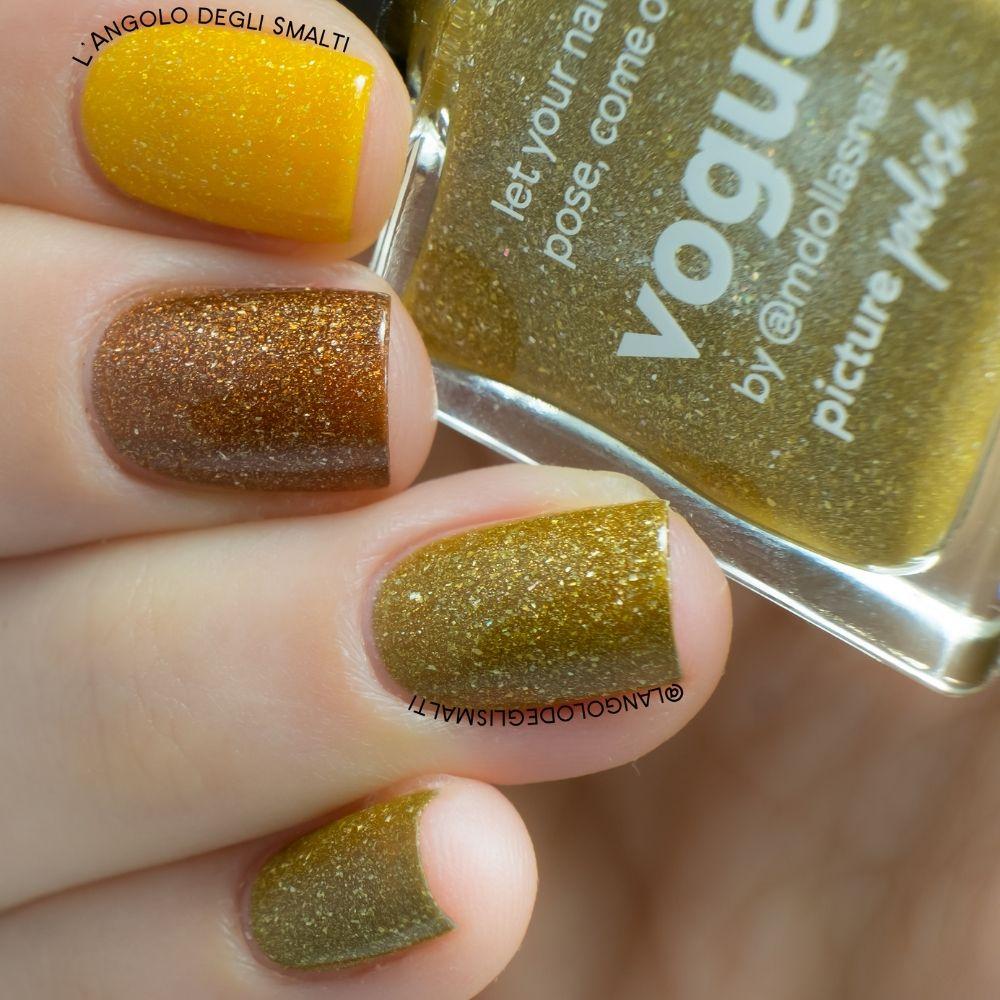 Vogue Amber Nail Polish Comparison
