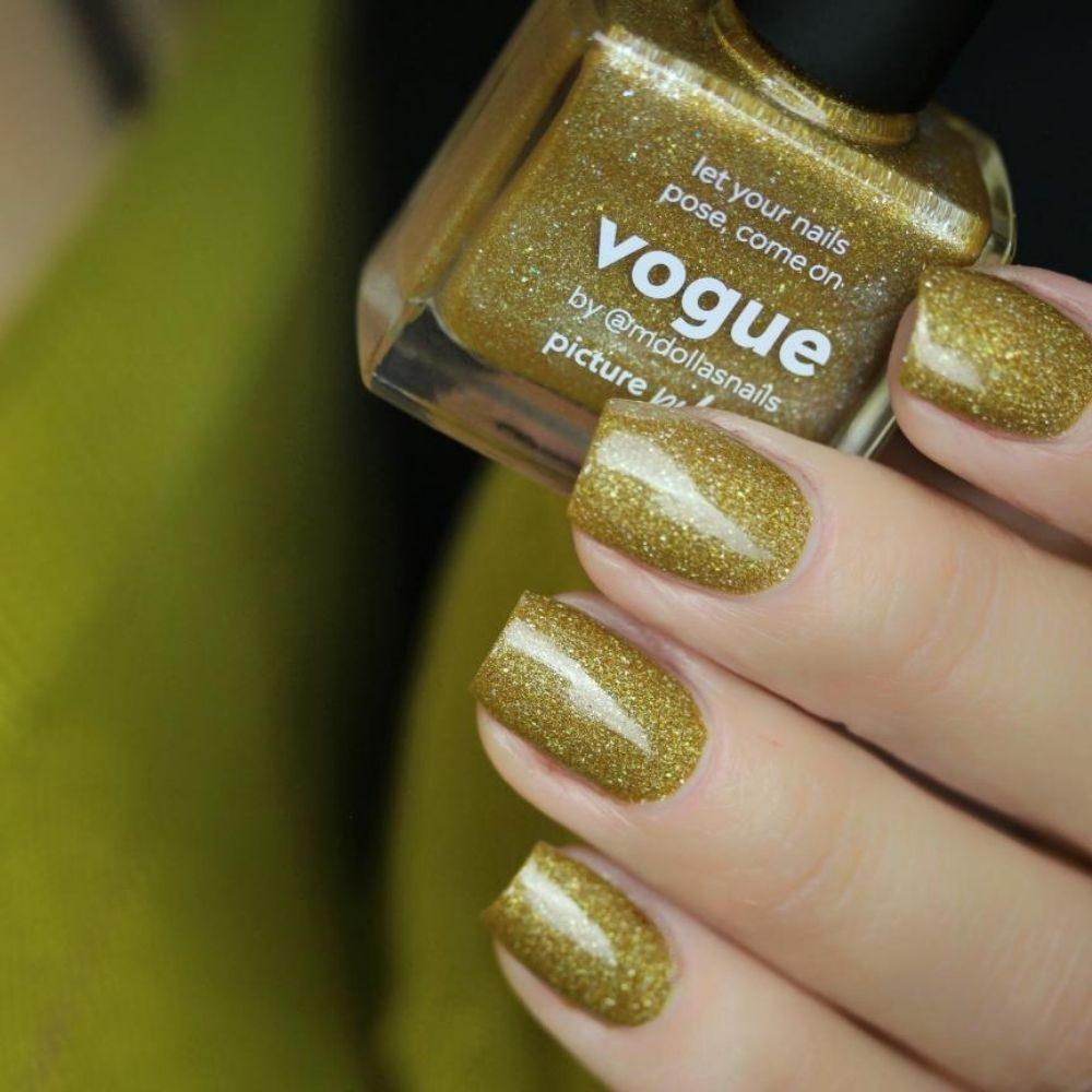 Vogue Nail Polish Holographic Swatch
