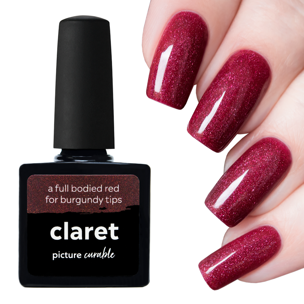 Claret Curable Lacquer