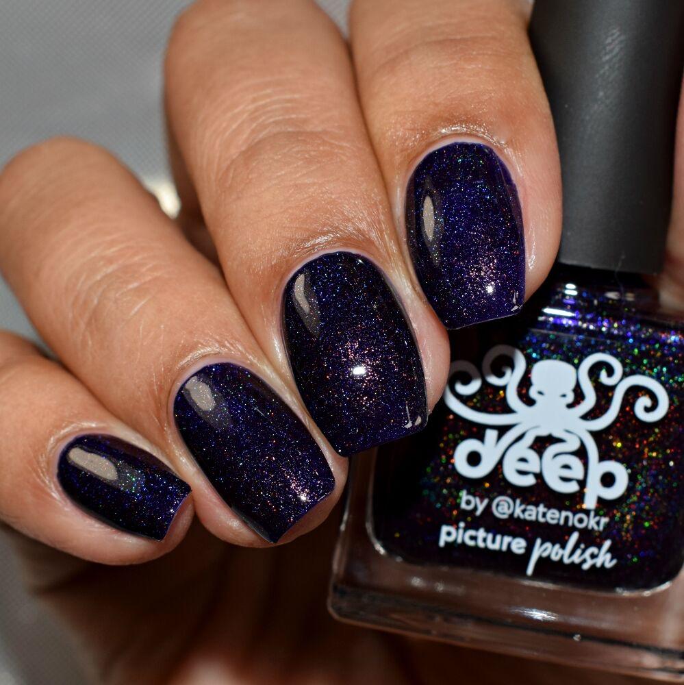 Deep Holographic Nail Polish