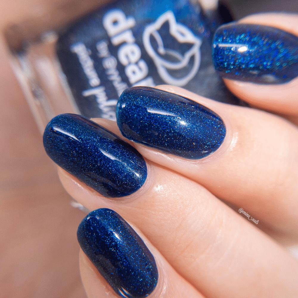Dreams Blue Nail Polish