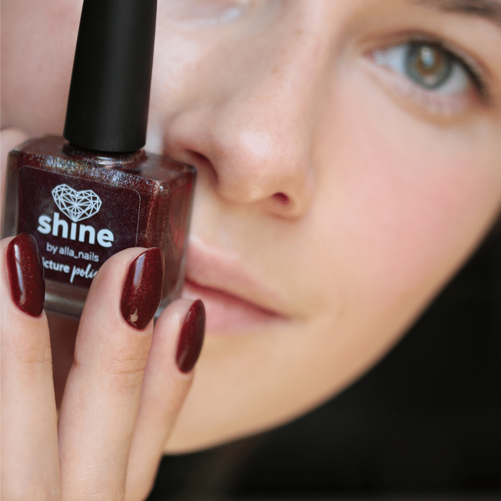 Shine Nail Polish Alla