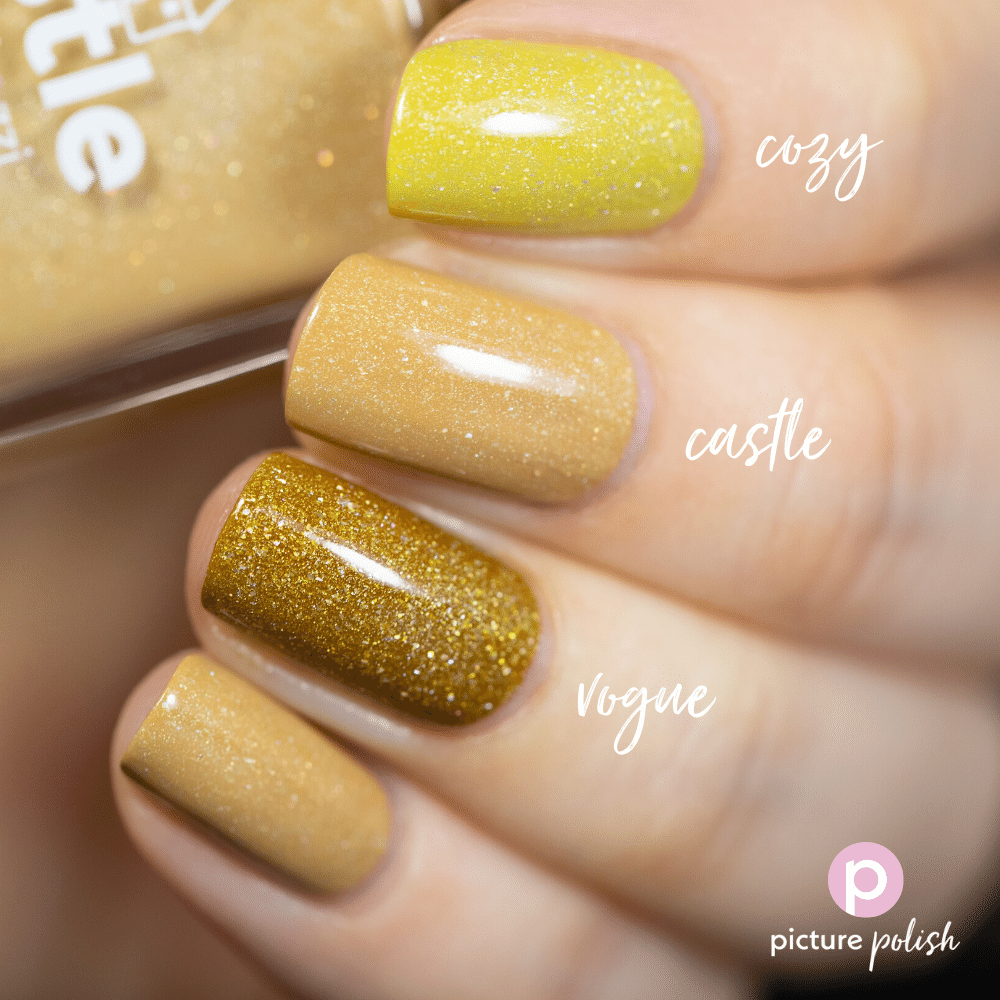 Nail Polish Castle Comparison