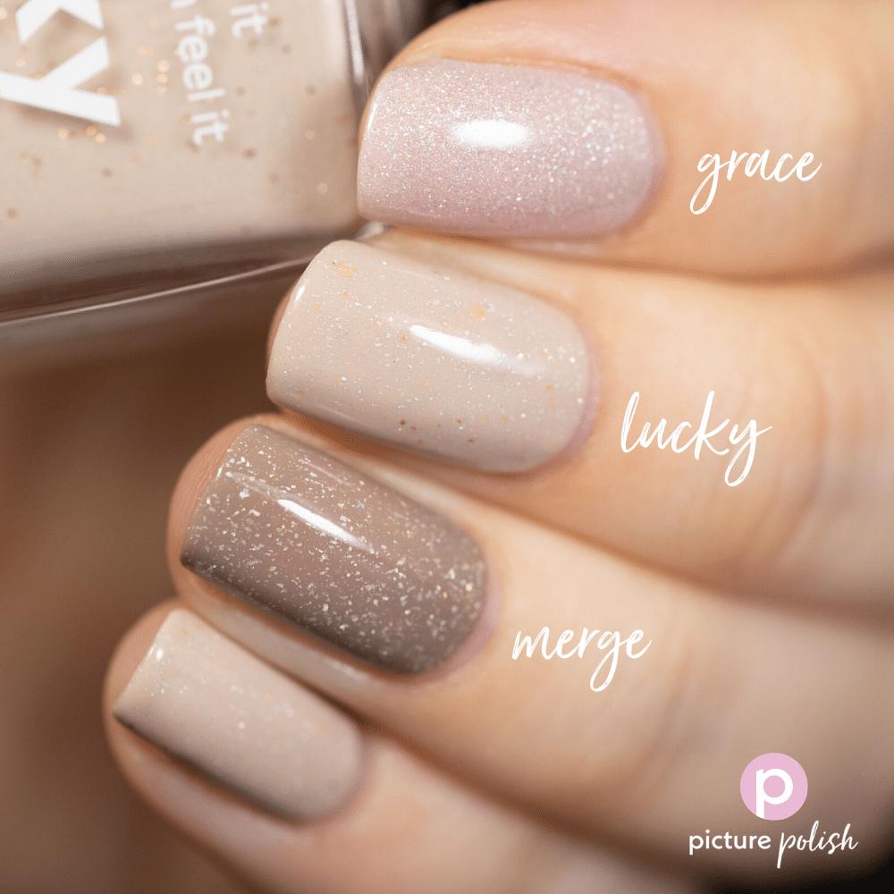Nail Polish Lucky Comparison