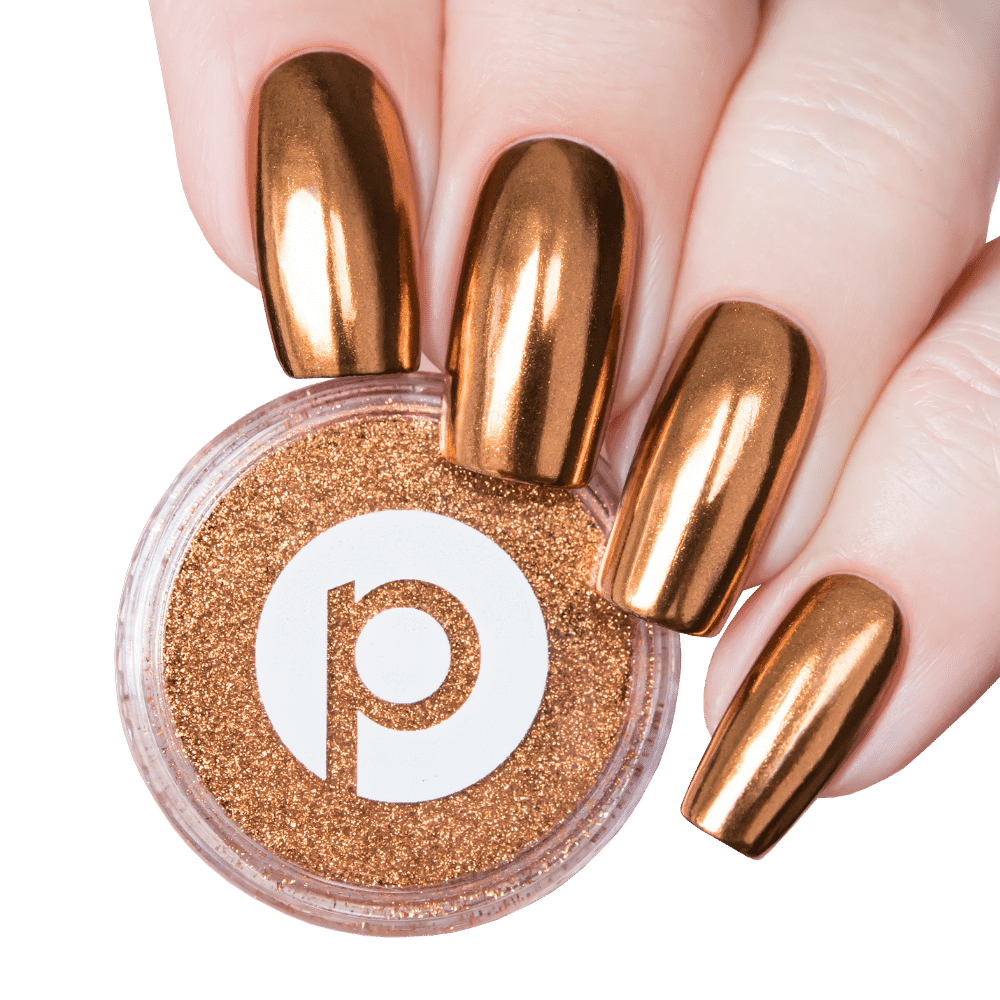 Bronze Nail Powder