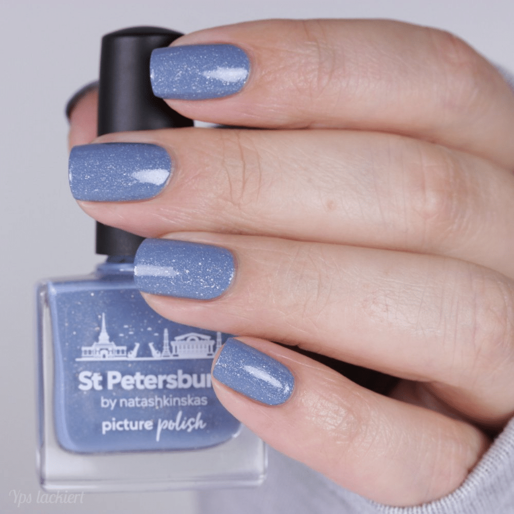 St Petersburg Holographic Nail Polish