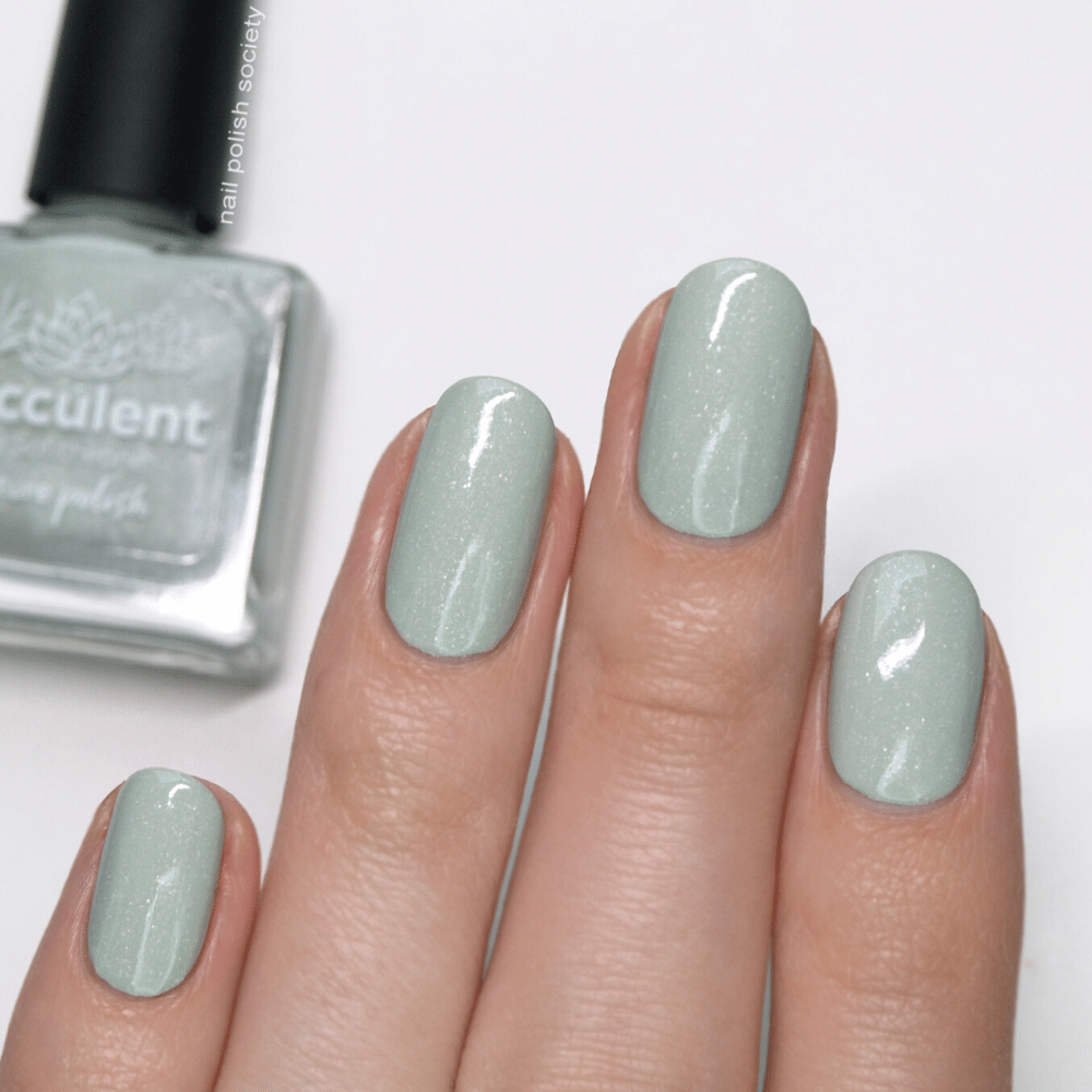 Succulent Green Holographic Nail Polish