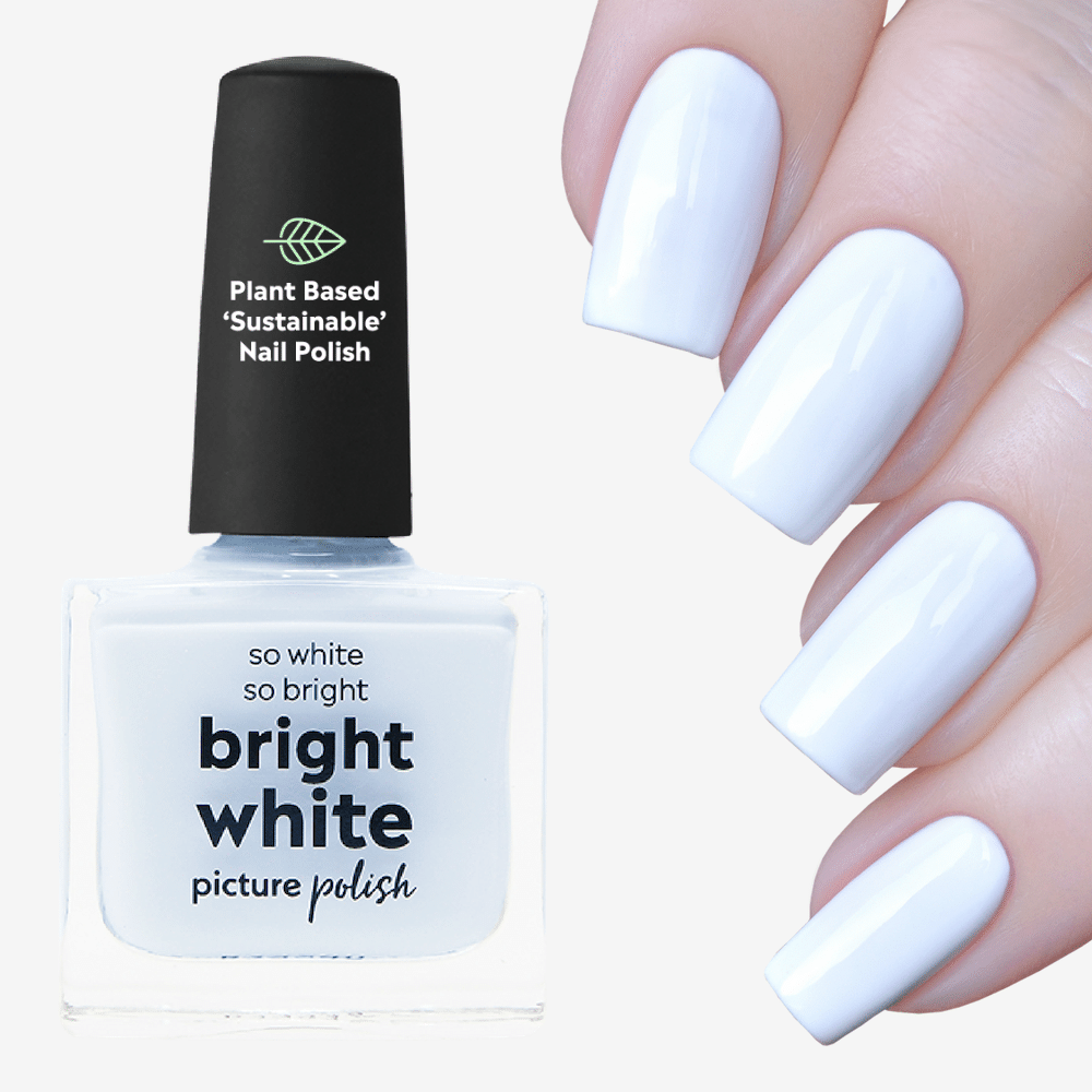 Bright White Nail Polish