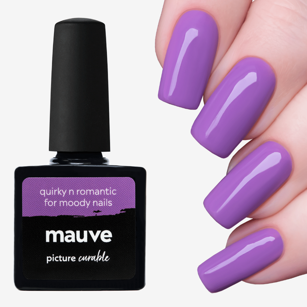 Mauve Curable Lacquer