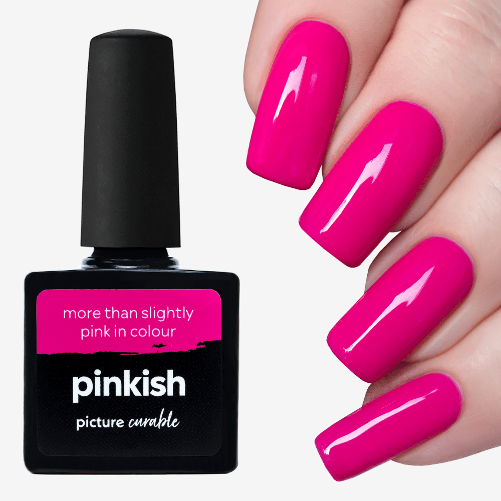 Pinkish Curable Lacquer