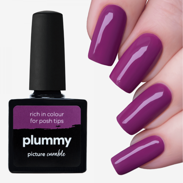 Plummy Curable Lacquer
