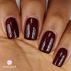 Red Room Nail Polish Mid Brown Complexion