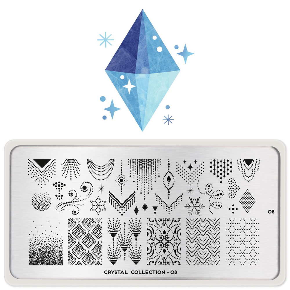 Stamping Plate Crystal 08