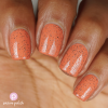 Hibiscus Nail Polish Mid Brown Complexion