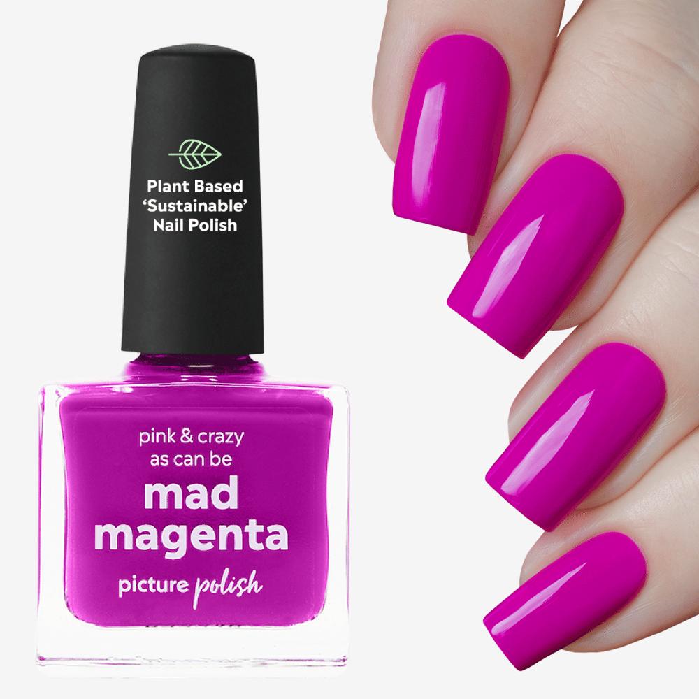 Mad Magenta Nail Polish