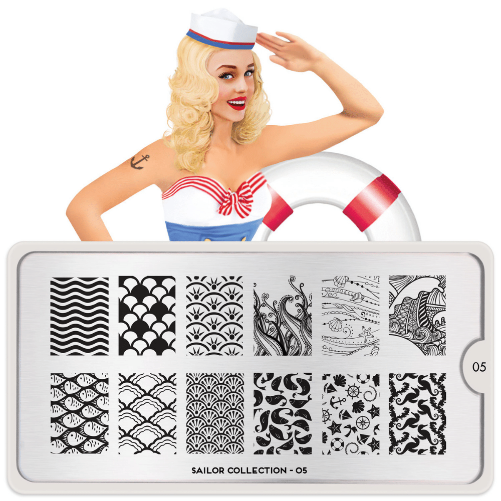 Stamping Plate Sailor 05