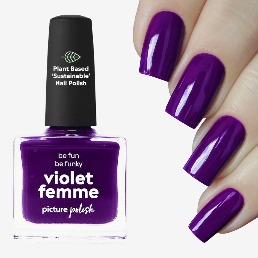 Violet Femme Nail Polish
