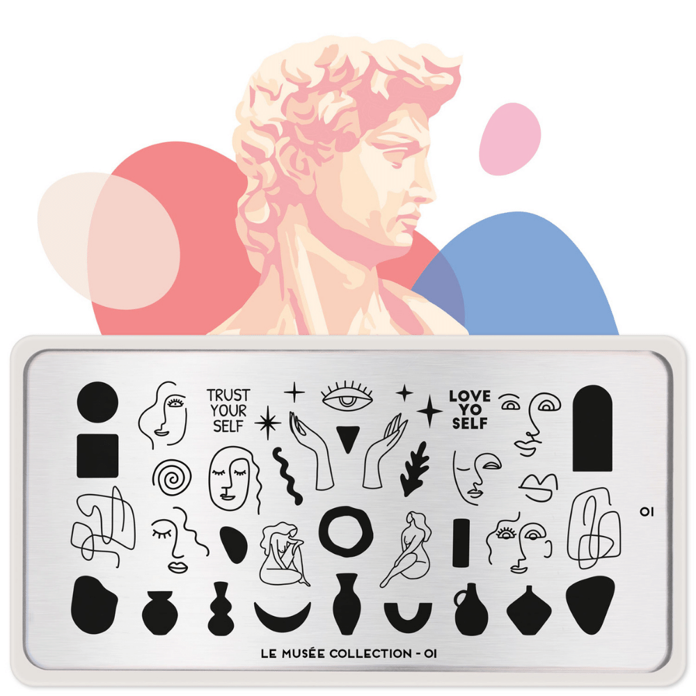 Stamping Plate Le Musee 01