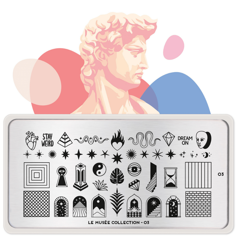 Stamping Plate Le Musee 03