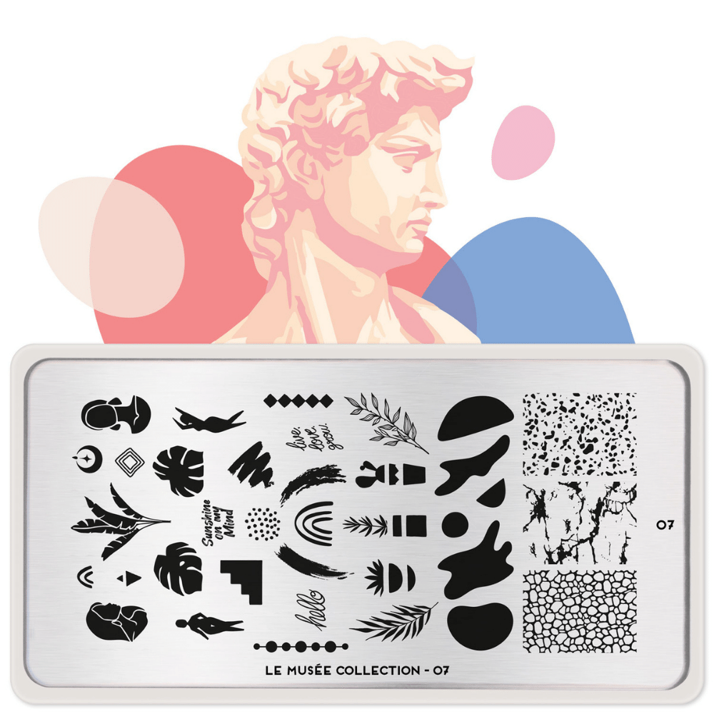 Stamping Plate Le Musee 07